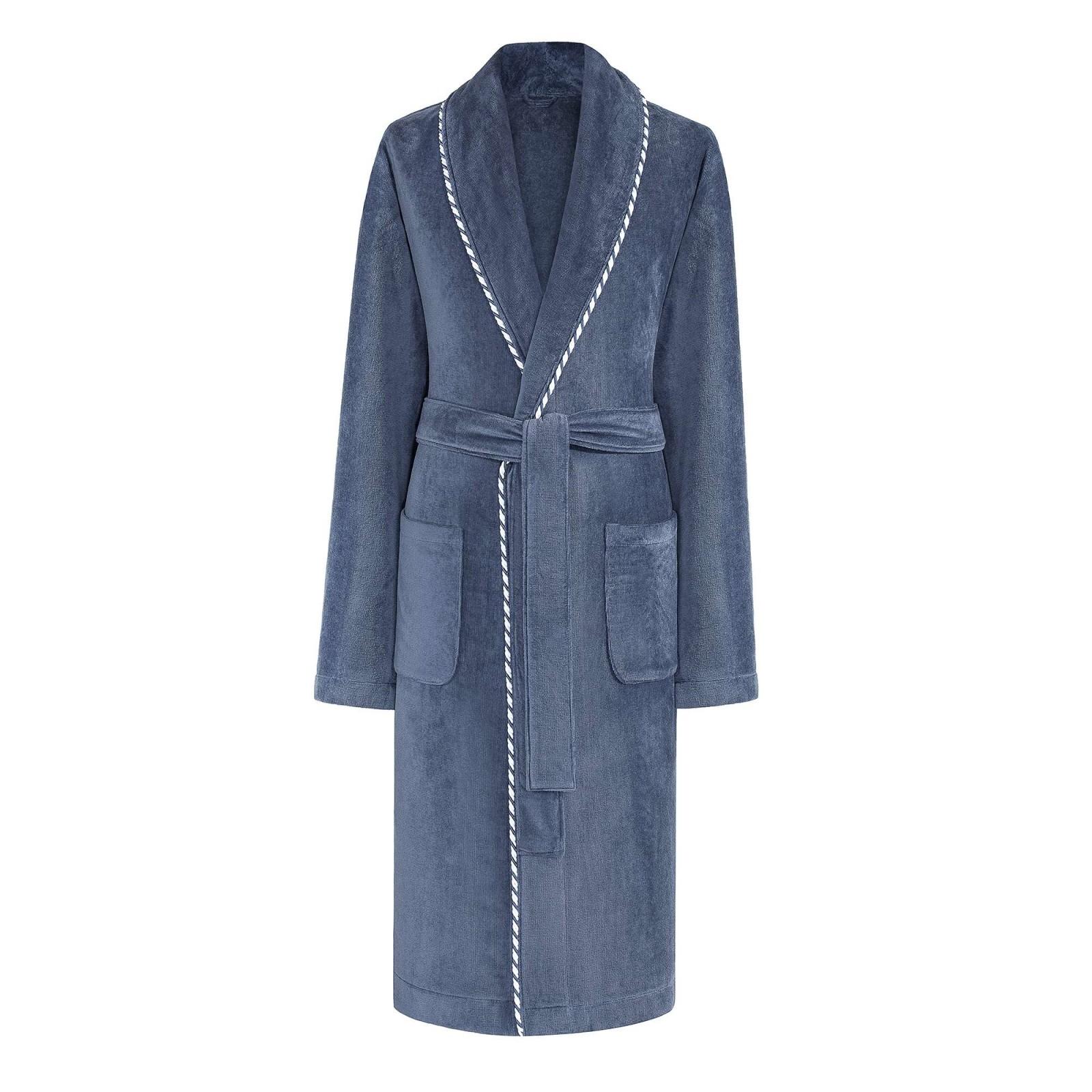 Сауны, бани и оборудование Togas Халат Роберт Цвет: Синий (M) togas халат мужской конолли