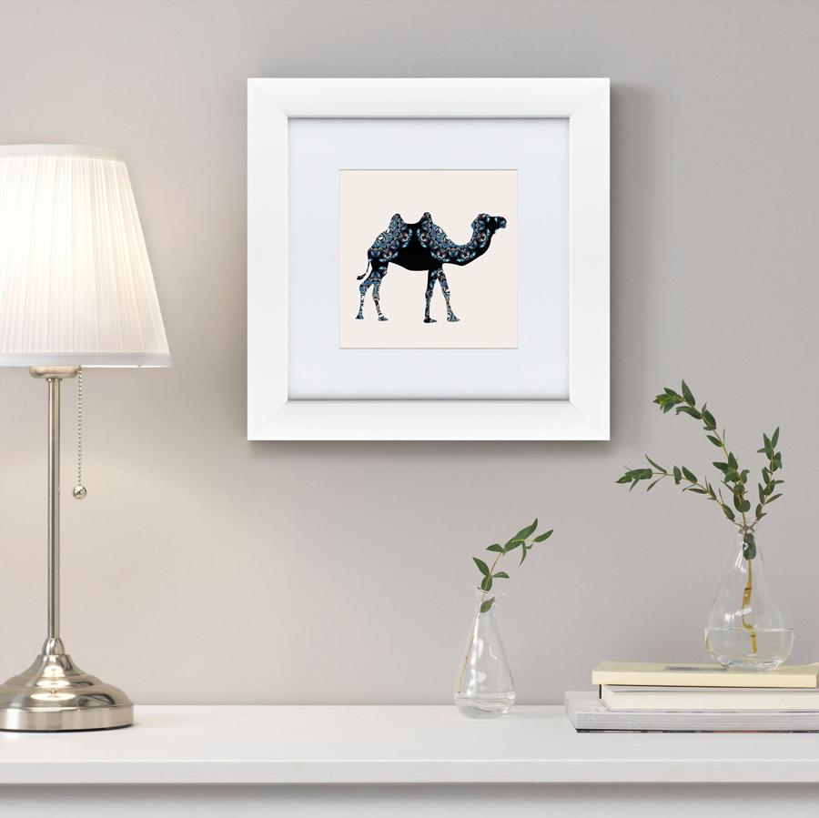 {} Картины в Квартиру Картина Восточная Яркость, Верблюд (35х35 см) картины в квартиру картина etude 2 102х130 см