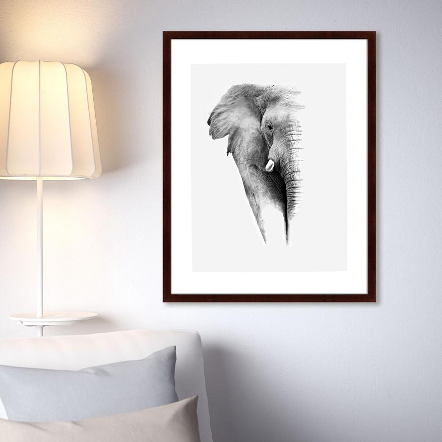 {} Картины в Квартиру Картина Слон (79х100 см) картины в квартиру картина вектор 79х100 см