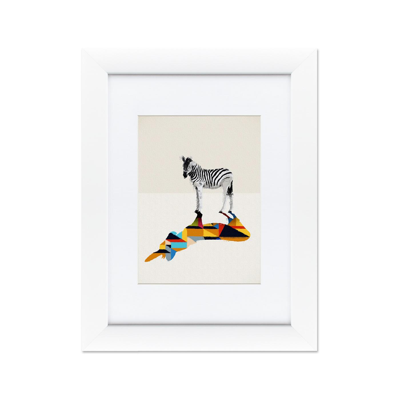 {} Картины в Квартиру Картина Зебра (35х45 см) картины в квартиру картина геометрия света 2 35х45 см
