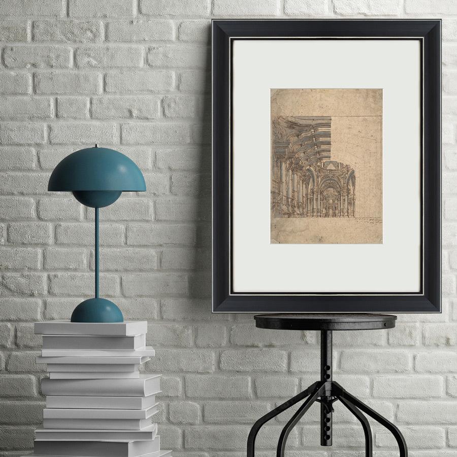 {} Картины в Квартиру Картина Design Of A Baroque Church (47х60 см) картины в квартиру картина etude 2 102х130 см