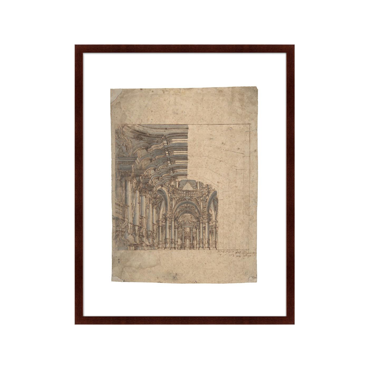 {} Картины в Квартиру Картина Design Of A Baroque Church (79х100 см) картины в квартиру картина вектор 79х100 см