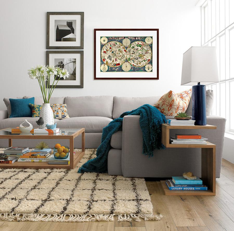 {} Картины в Квартиру Картина Карта Созвездий (79х100 см) картины в квартиру картина etude 2 102х130 см