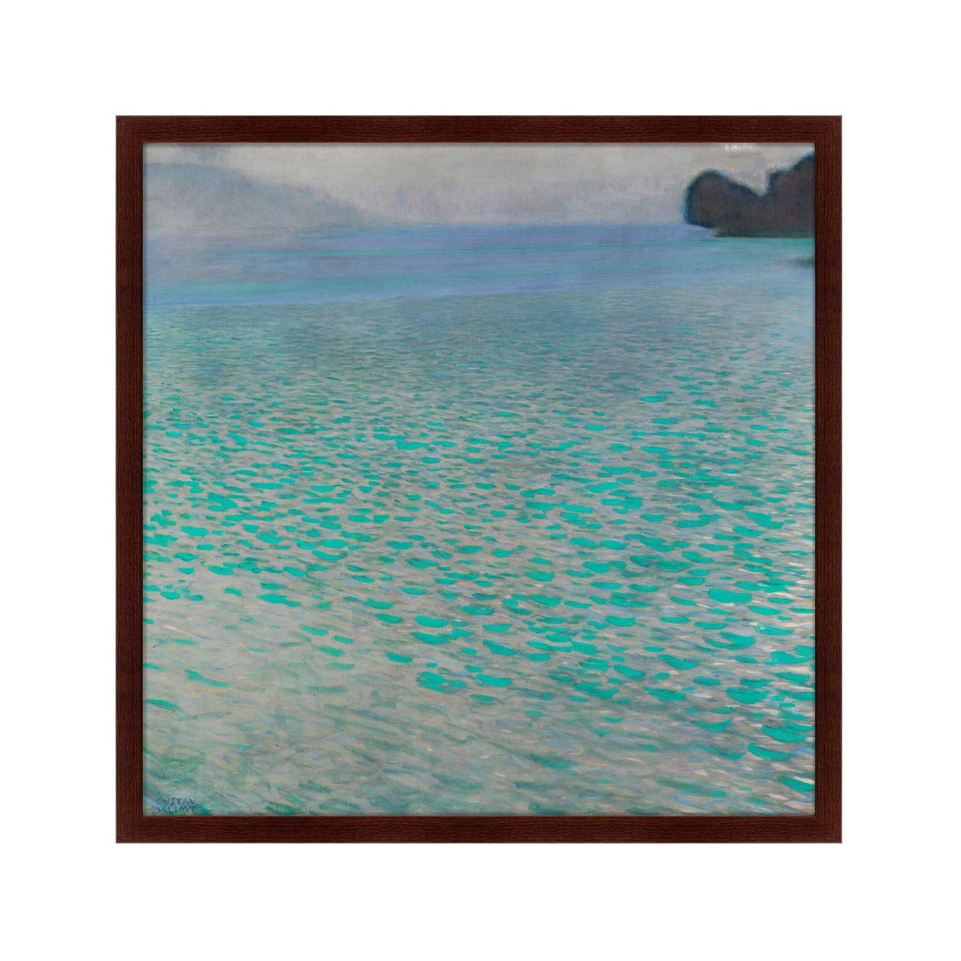 {} Картины в Квартиру Картина Attersee (79х79 см) купить 1ком квартиру в краснодаре