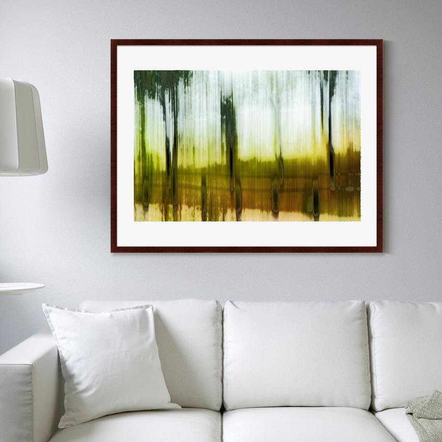 {} Картины в Квартиру Картина Etude №3 (102х130 см) картины в квартиру картина вода деревья утро 102х130 см