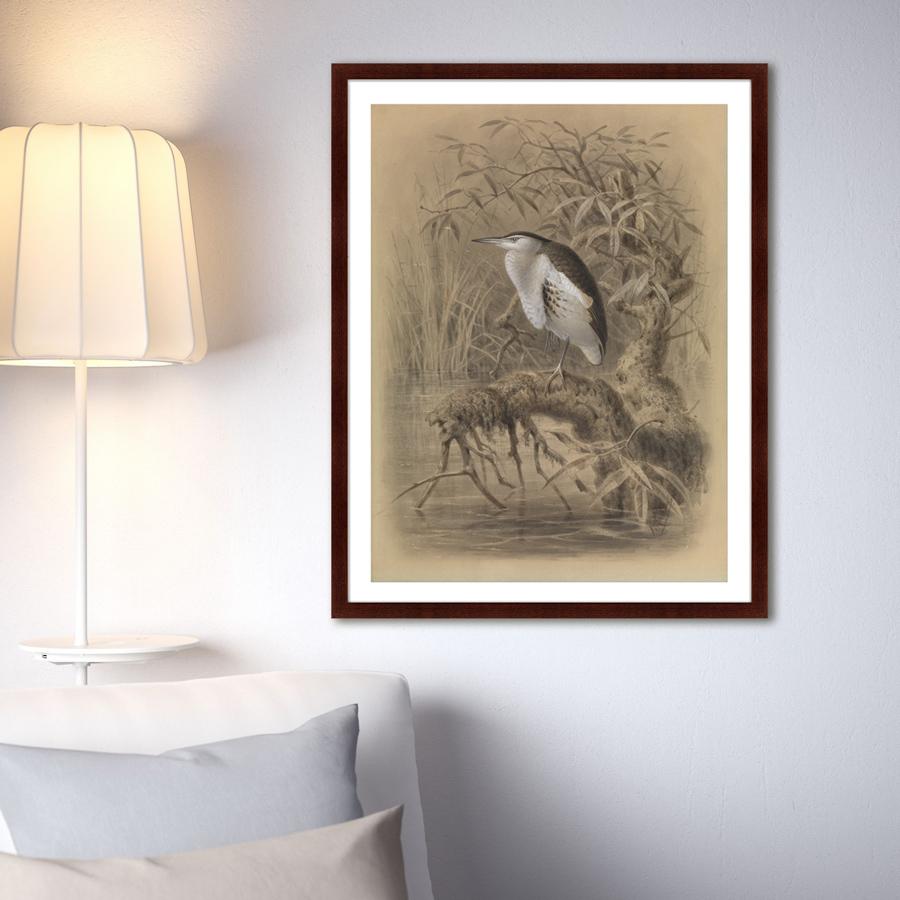 {} Картины в Квартиру Картина Птица У Озера (79х100 см) картины в квартиру картина вектор 79х100 см