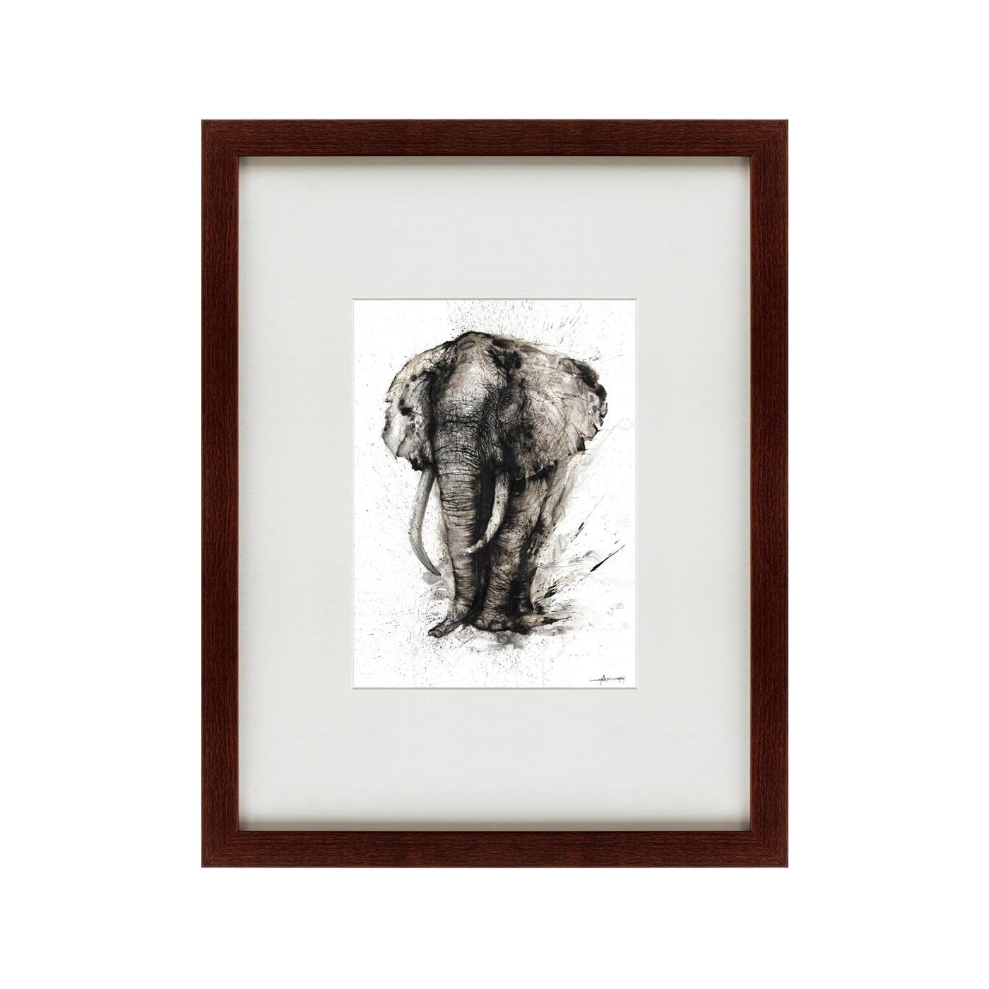 {} Картины в Квартиру Картина Слон-Мудрость (47х60 см) 2комнатную квартиру в колпино