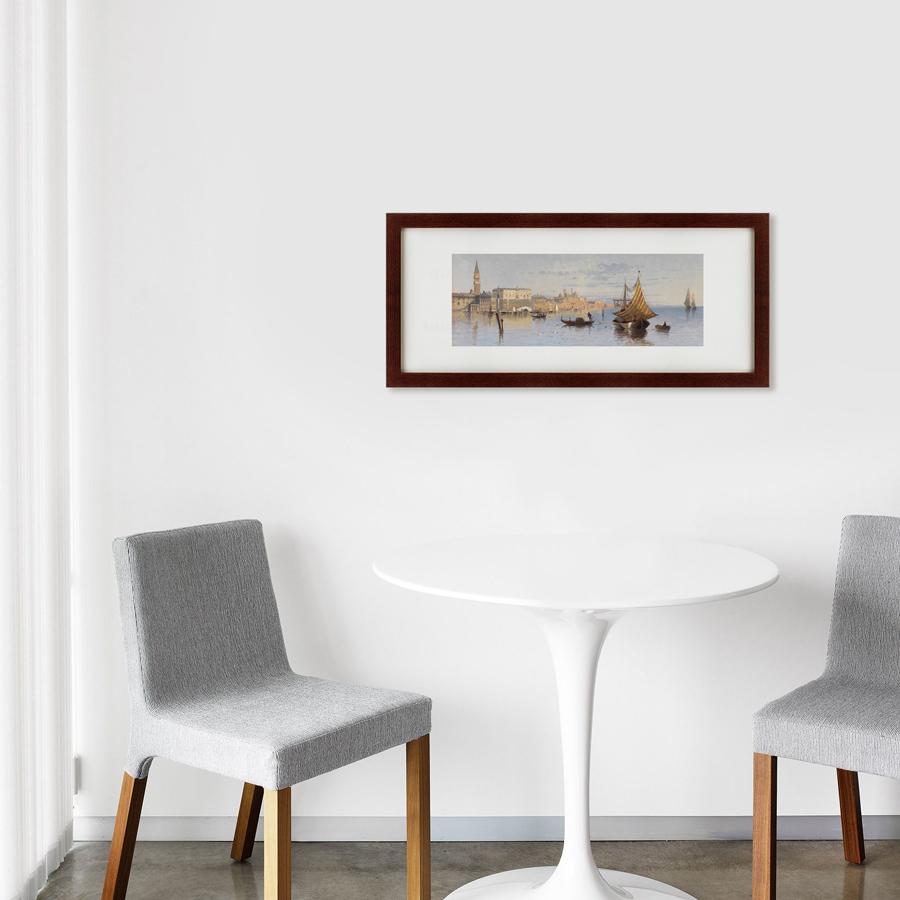 {} Картины в Квартиру Картина Sunrise (35х77 см) картины в квартиру картина озеро этюд на закате 35х77 см