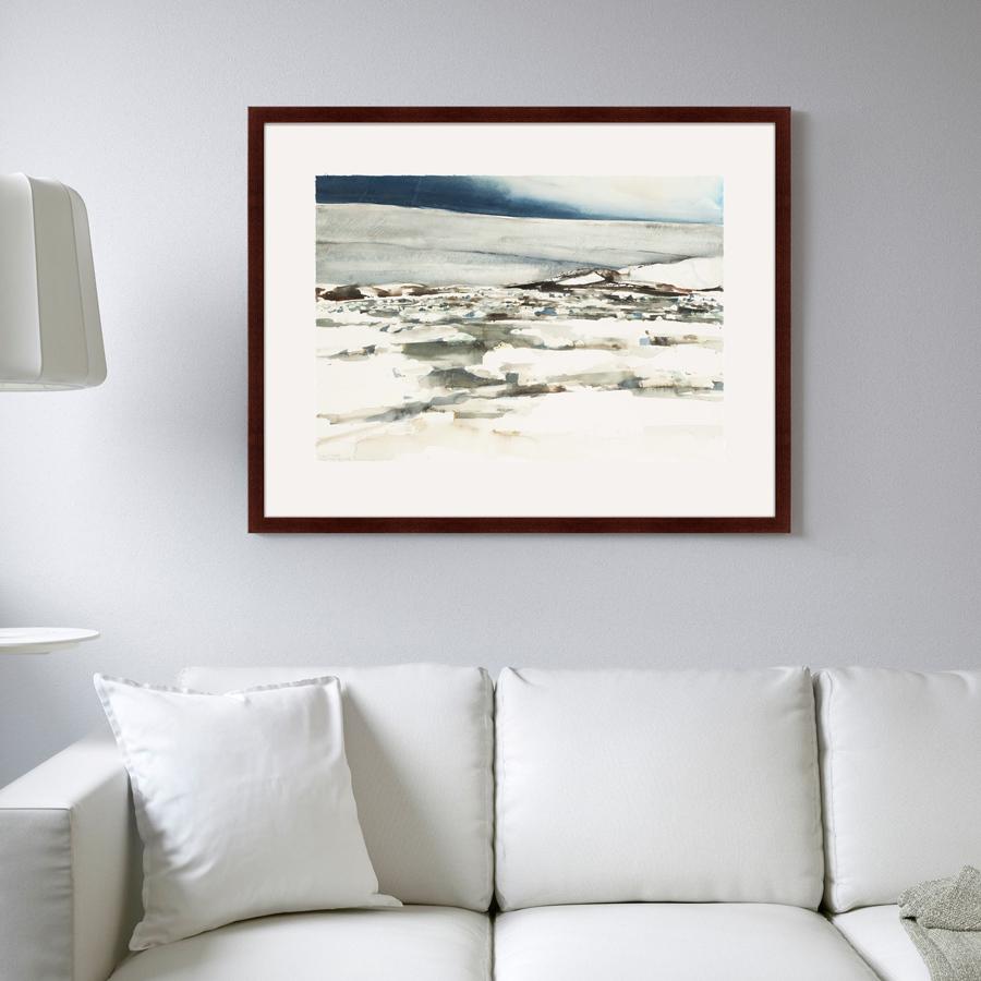 {} Картины в Квартиру Картина Снежный Холм (79х100 см) картины в квартиру картина вода деревья утро 102х130 см