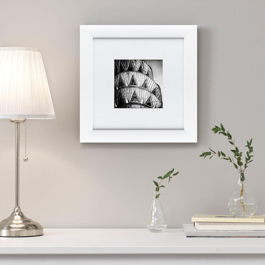 {} Картины в Квартиру Картина Окна Крайслер Билдинг (35х35 см) картины в квартиру картина бульдог в шотландской клетке 35х35 см