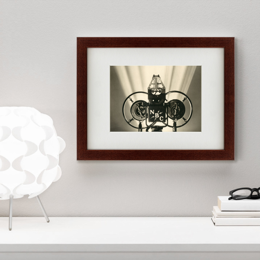 {} Картины в Квартиру Картина Радио NBC (35х45 см) картины в квартиру картина геометрия света 2 35х45 см