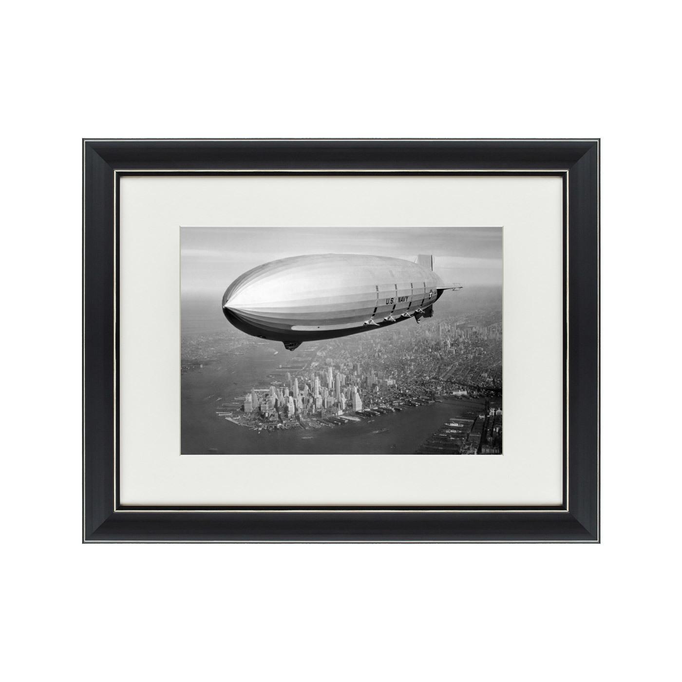 {} Картины в Квартиру Картина Цеппелин Над Манхэттеном (47х60 см) картины в квартиру картина цветная гравюра 2 47х60 см