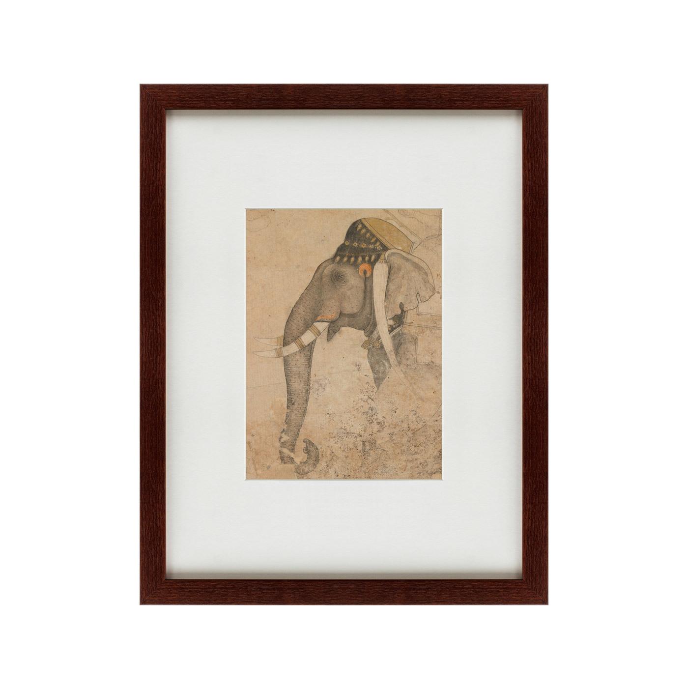 {} Картины в Квартиру Картина Слон И Наездник (47х60 см) картины в квартиру картина японская акварель суми э 2 47х60 см