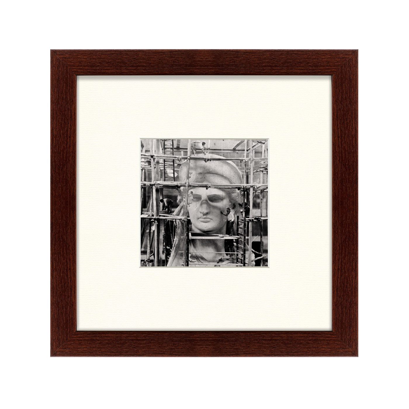 {} Картины в Квартиру Картина Строительство Статуи Свободы (35х35 см) картины в квартиру картина on the seine no 2 35х35 см