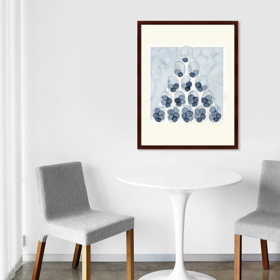 {} Картины в Квартиру Картина Indigo Pyramid (79х100 см) картины в квартиру картина вектор 79х100 см
