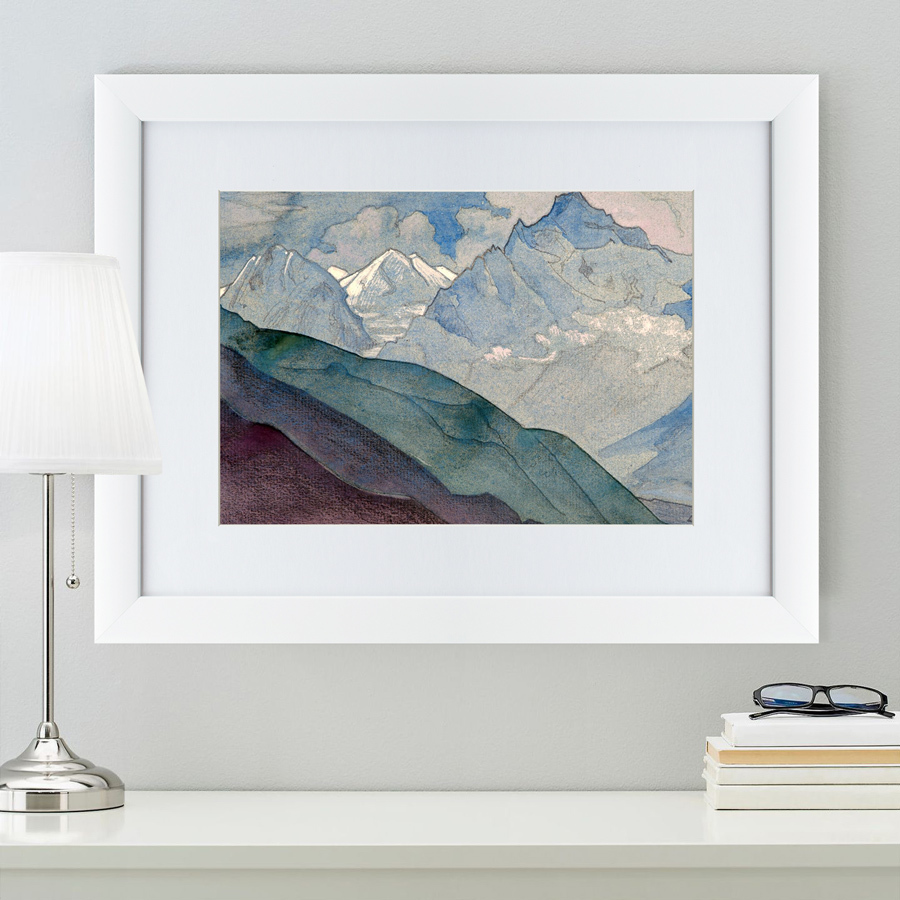 {} Картины в Квартиру Картина Гора Колокола (47х60 см) картины в квартиру картина цветная гравюра 2 47х60 см