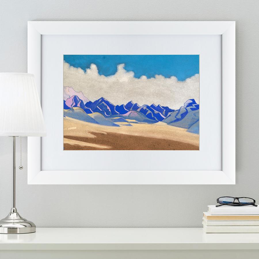 {} Картины в Квартиру Картина Каракорум (47х60 см) картины в квартиру картина вода деревья утро 102х130 см
