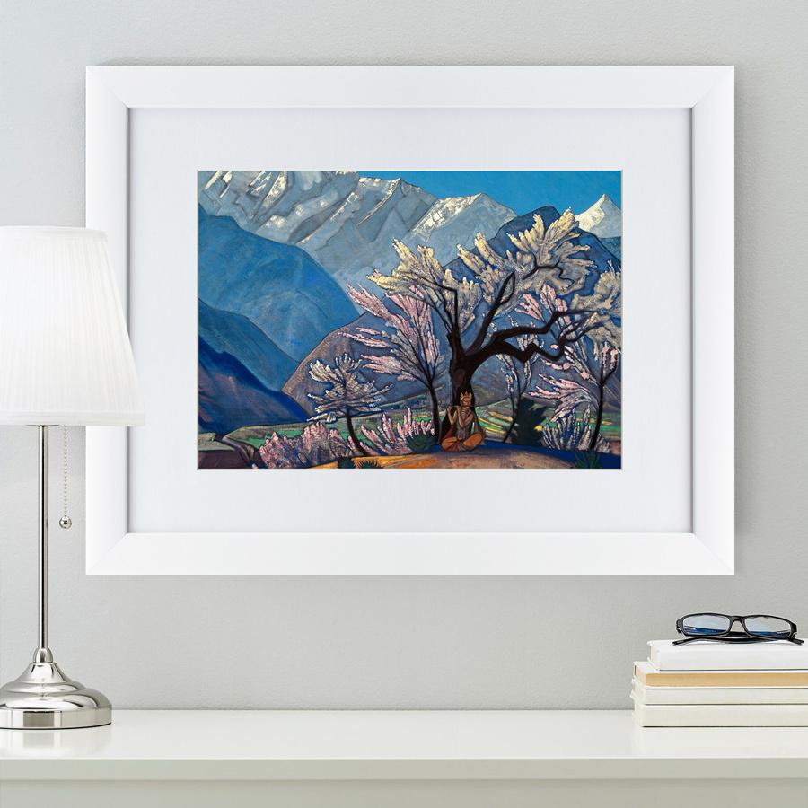 {} Картины в Квартиру Картина Кришна (47х60 см) счетчики тепла в квартиру