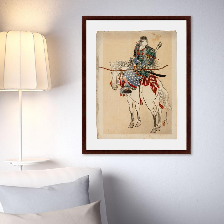 {} Картины в Квартиру Картина Самурай №2 (79х100 см) купить 1ком квартиру в краснодаре