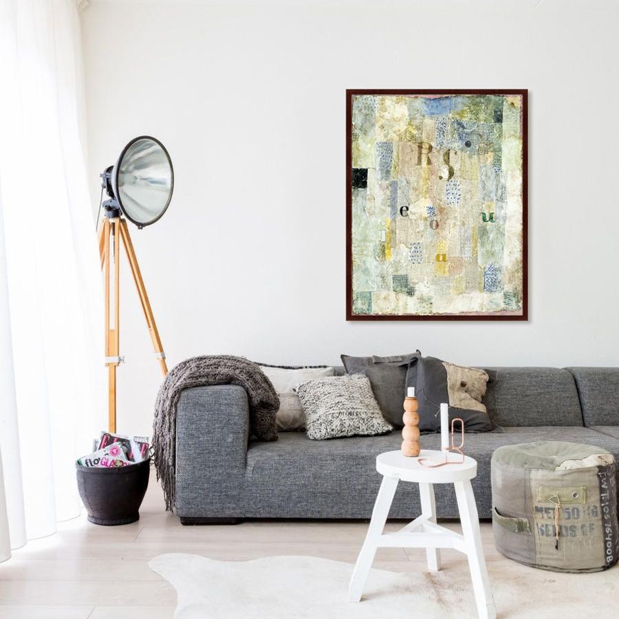 {} Картины в Квартиру Картина Vocal Fabric Of the Singer Rosa Silber (102х130 см) картины в квартиру картина вода деревья утро 102х130 см