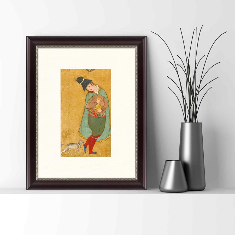 {} Картины в Квартиру Картина Пилигрим Из Мешхеда (47х60 см) картины в квартиру картина цветная гравюра 2 47х60 см