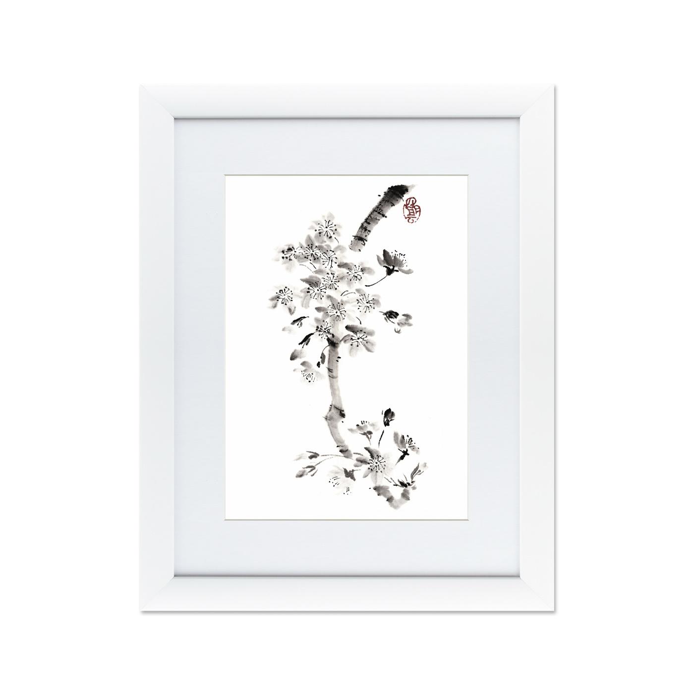 {} Картины в Квартиру Картина Японская Акварель Суми-э, №1 (47х60 см) 1 квартиру в люберцах на красной горке