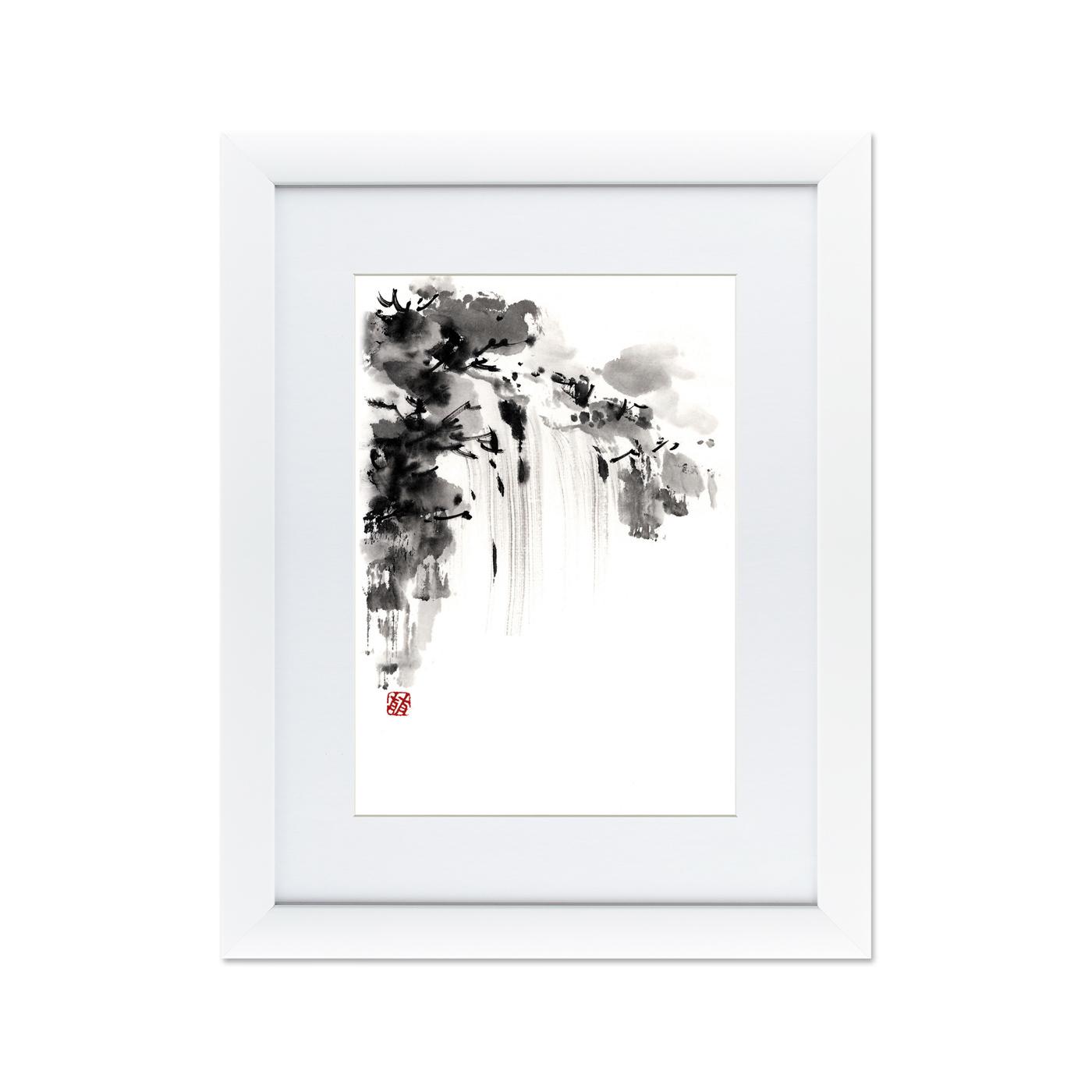 {} Картины в Квартиру Картина Японская Акварель Суми-э, №6 (47х60 см) картины в квартиру картина etude 2 102х130 см