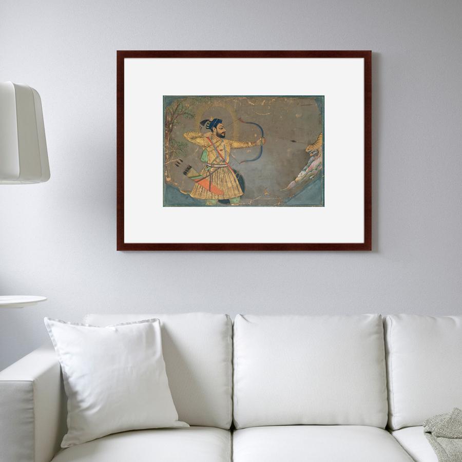 {} Картины в Квартиру Картина Султан Али Охотится На Тигра (79х100 см) картины в квартиру картина вектор 79х100 см