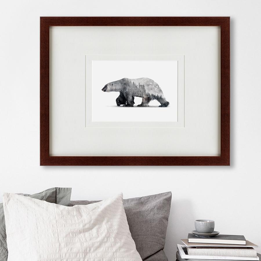 {} Картины в Квартиру Картина The Bear (47х60 см) картины в квартиру картина sunrise 35х77 см