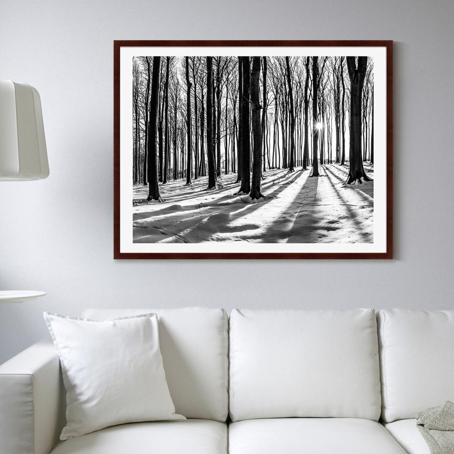 {} Картины в Квартиру Картина Утро В Лесу (102х130 см) картины в квартиру картина вода деревья утро 102х130 см