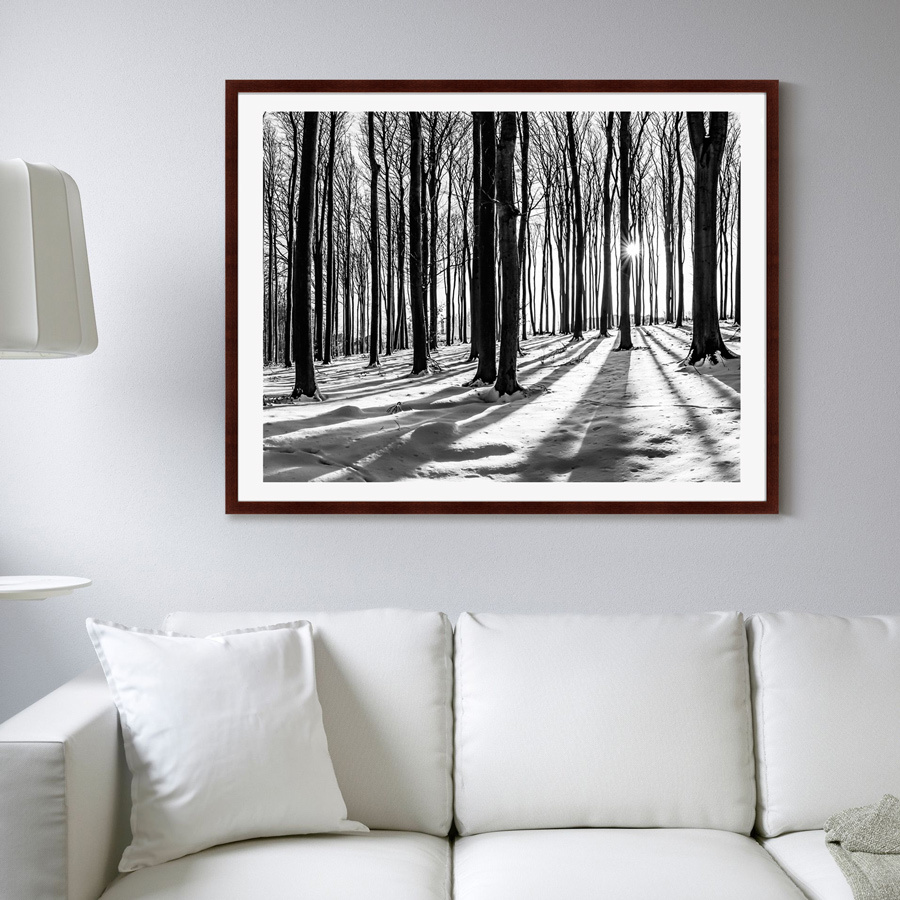 {} Картины в Квартиру Картина Утро В Лесу (102х130 см) картины в квартиру картина etude 3 102х130 см