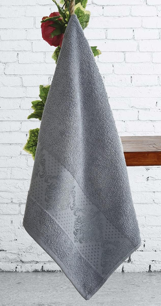где купить  Полотенца Karna Полотенце Dora Цвет:  Голубой Голубой (70х140 см)  по лучшей цене