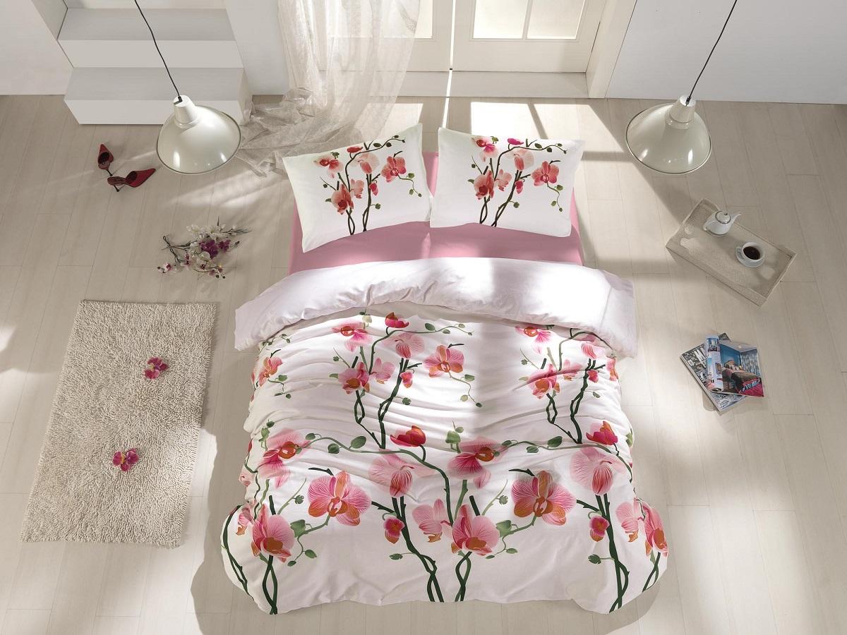 где купить  Постельное белье Altinbasak Постельное белье Bloom (2 сп. евро)  по лучшей цене