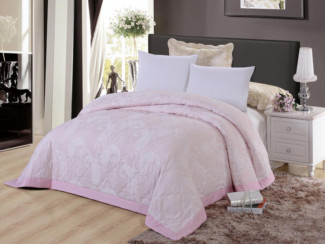 Покрывало Cleo Покрывало Виктория 291 Цвет: Розовый (220х240 см) покрывало евростандарт cleo виктория