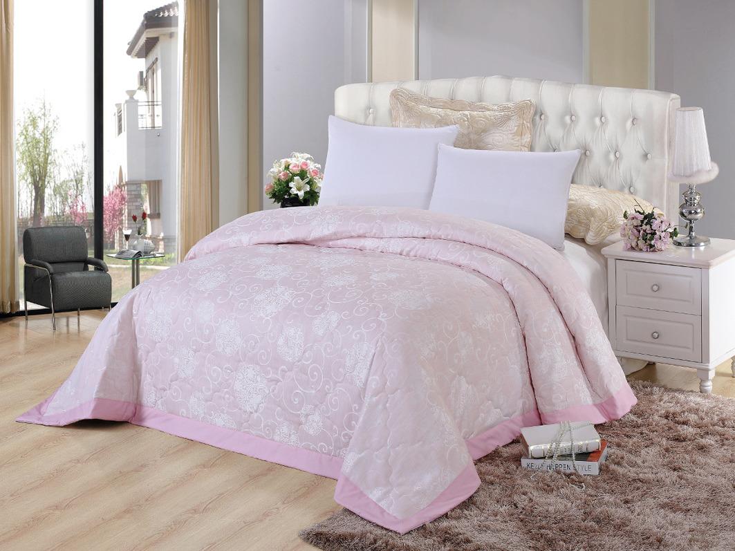 Покрывало Cleo Покрывало Виктория 292 Цвет: Розовый (240х260 см) покрывало евростандарт cleo виктория