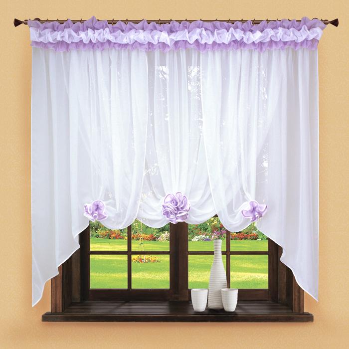 Шторы РеалТекс Классические шторы Neville Цвет: Сиреневый