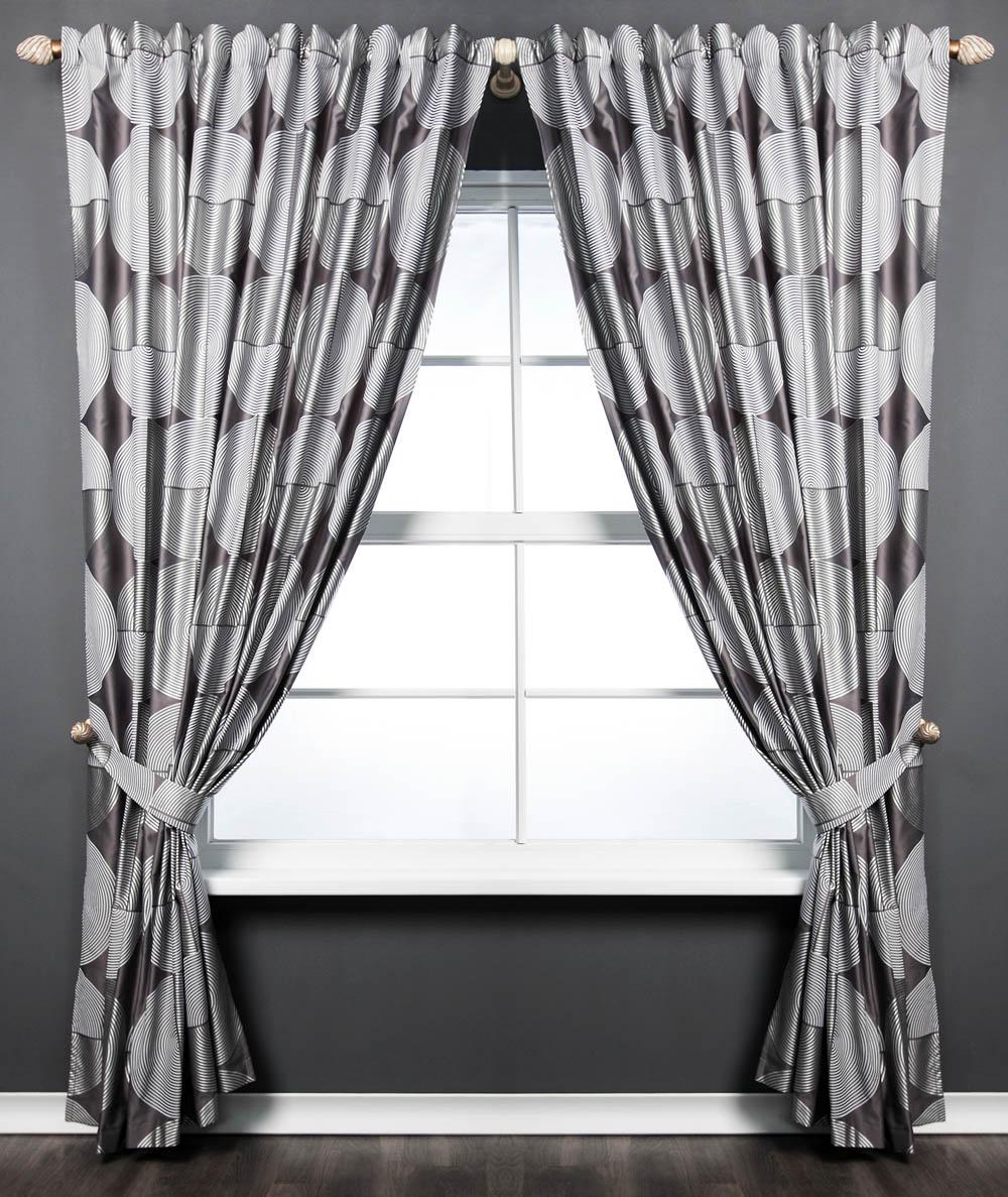 PASIONARIA Классические шторы Техно Цвет: Серый