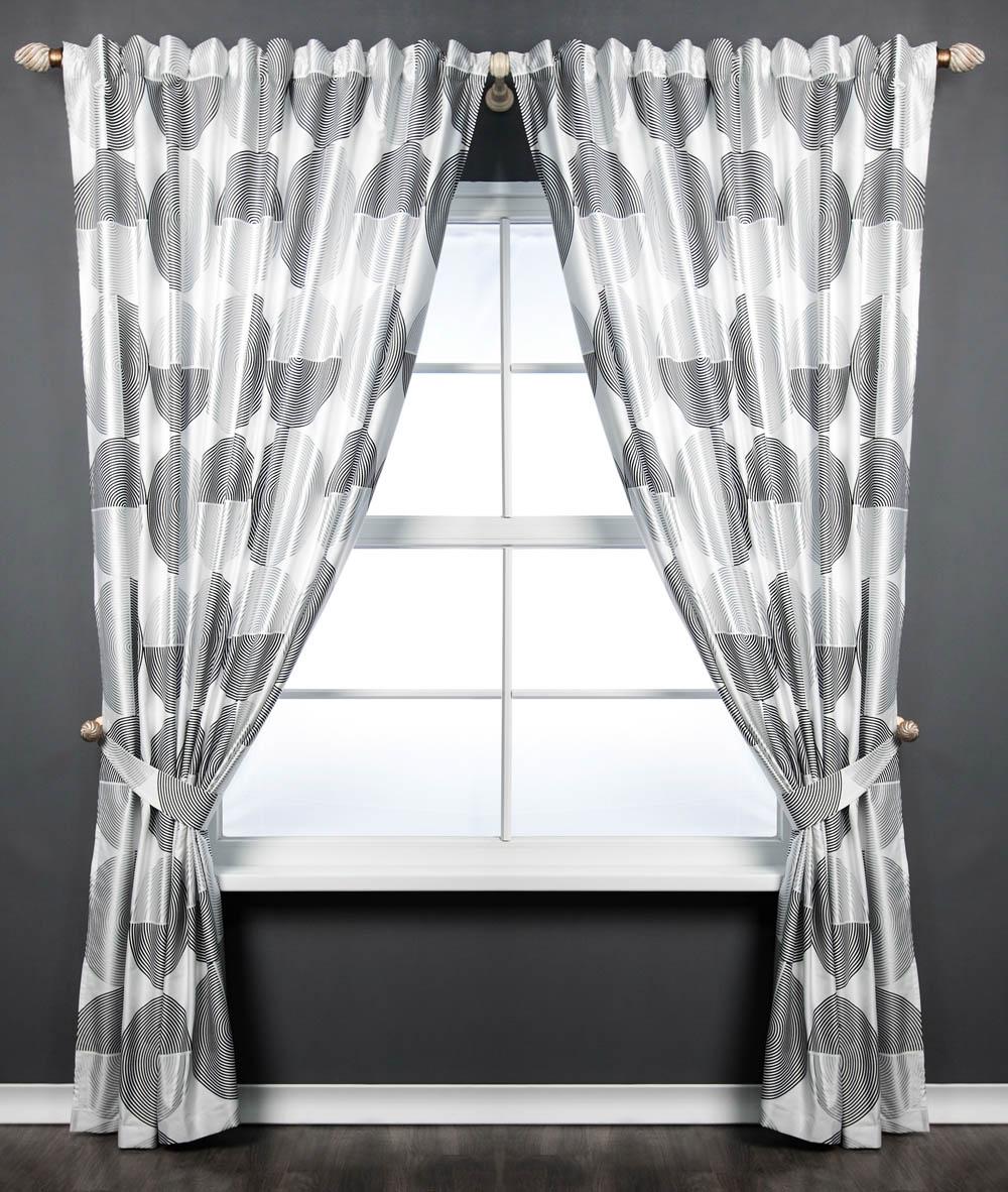 PASIONARIA Классические шторы Техно Цвет: Белый