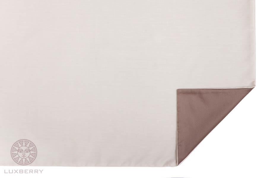 где купить  Наволочки Luxberry Наволочка Duetto 3 Цвет: Песочный/Орех (70х70)  по лучшей цене