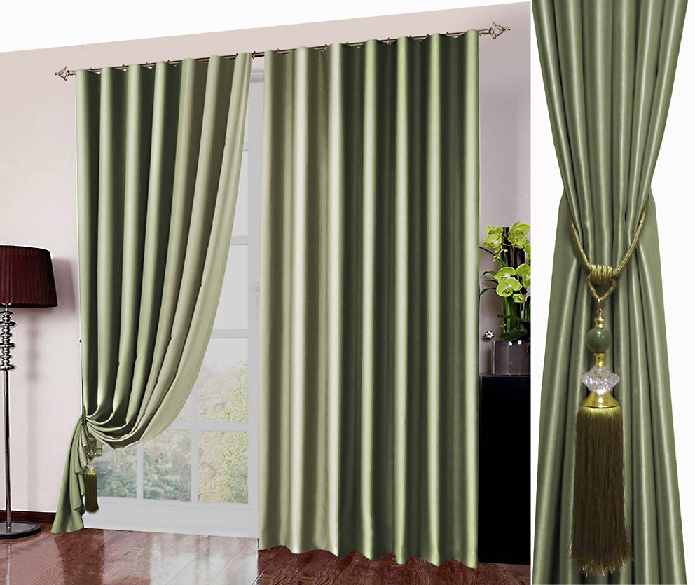 Шторы РеалТекс Классические шторы Kaylynn Цвет: Оливковый реалтекс реалтекс классические шторы akina цвет бежевый бордовый