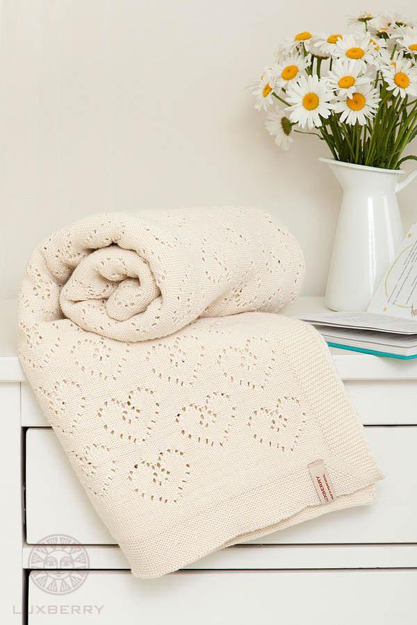 Детские покрывала, подушки, одеяла Luxberry Детский плед Lux4 Цвет: Экрю                                                                                                                            (100х150 см) luxberry luxberry детский плед vanessa цвет розовый 100х150 см