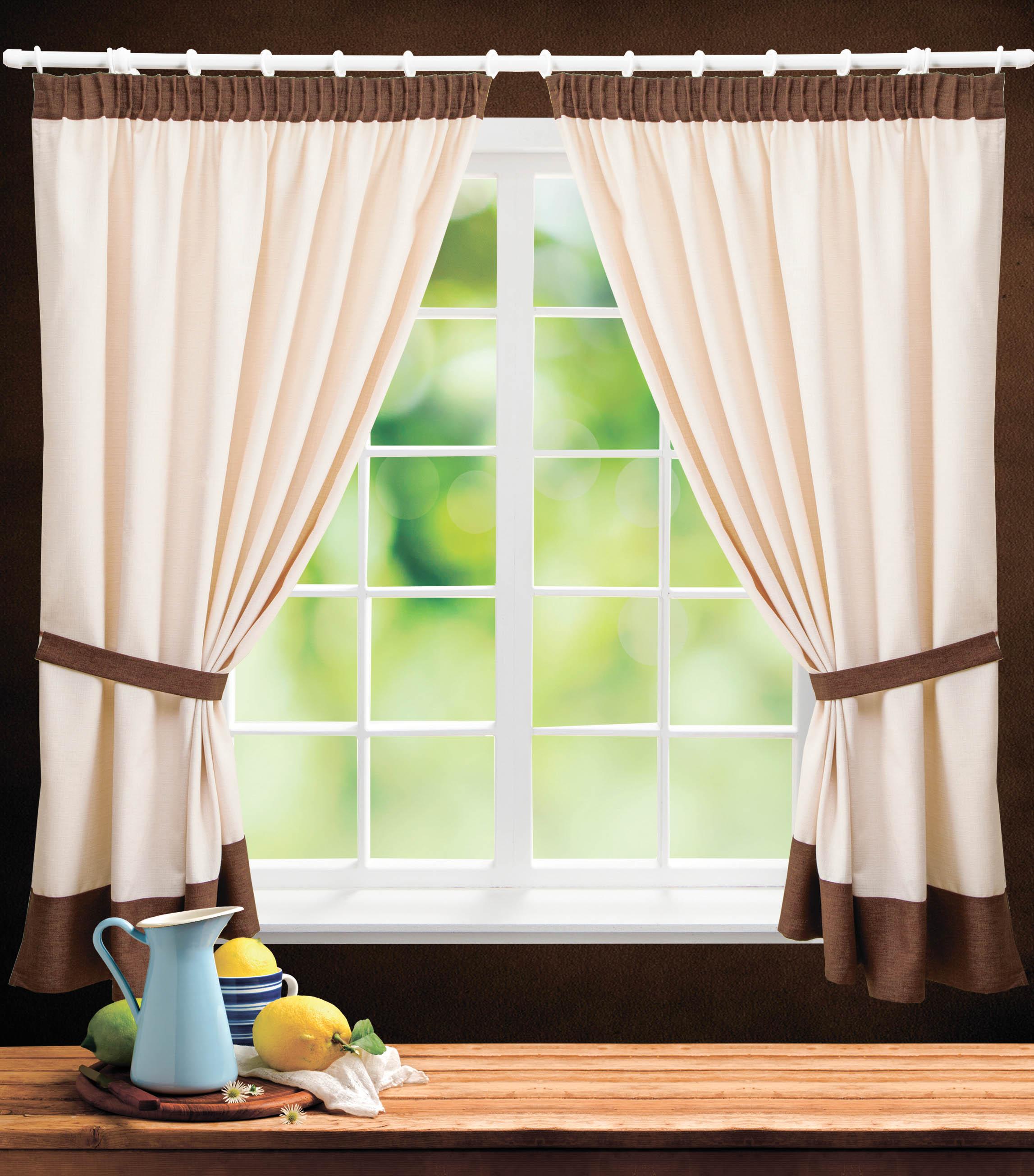 PASIONARIA Классические шторы Атлант Цвет: Коричневый