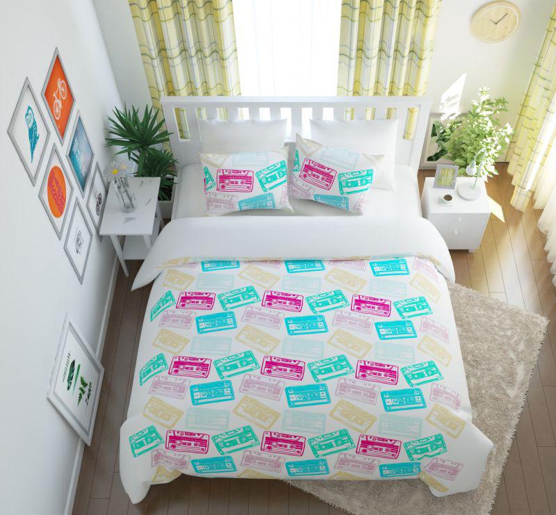 Постельное белье Сирень Постельное белье Фонотека (семейное) постельное белье сирень постельное белье фонотека семейное