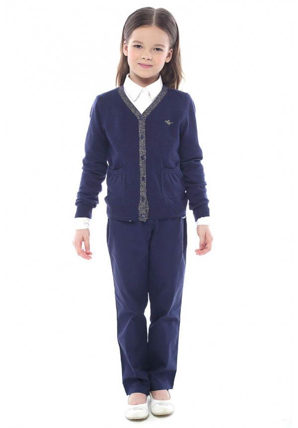 Детские брюки, шорты Luce della Vita Детские брюки Ursula Цвет: Темно-Синий (3-4 года) 44d corso della repubblica джинсовые брюки