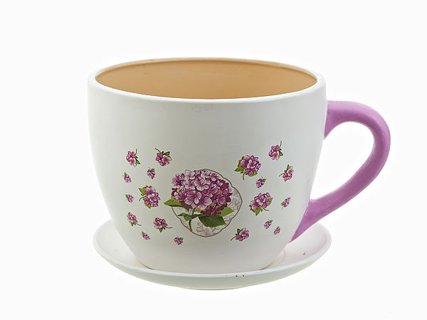 {} Nouvelle Горшок с поддоном Розовая Гортензия (17х21 см) горшок для цветов с поддоном розовая гортензия h 16 5см d 20 5см v 3100мл без подарочной упаковки 893176