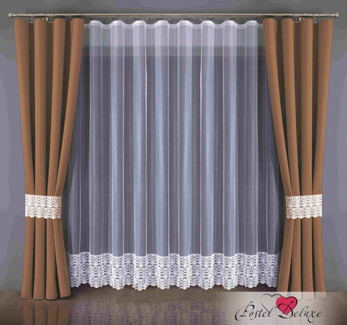Шторы Wisan Классические шторы Blackout Цвет: Шоколадный wisan wisan классические шторы noele