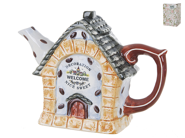 {} ENS GROUP Заварочный чайник Дом, Милый Дом (10х16х22 см) чайник заварочный ens group цветочная поэма 1 л