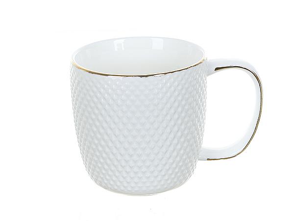 {} Best Home Porcelain Кружка Белый Кварц (320 мл) кружка amber porcelain 220 мл 214176
