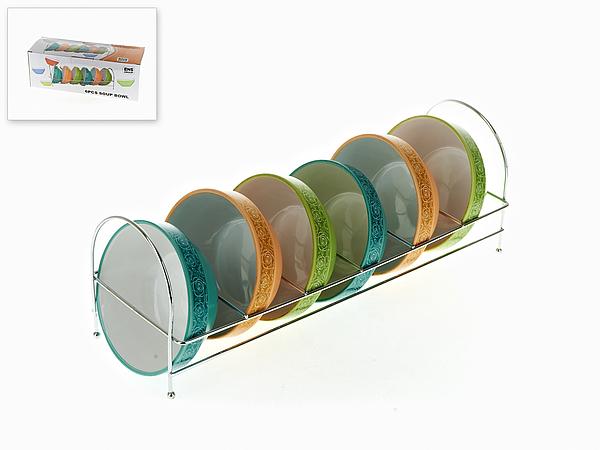 {} ENS GROUP Салатник Эдем (6х13 см - 6 шт) салатник с крышкой ens group танго магнолия 1 6 л