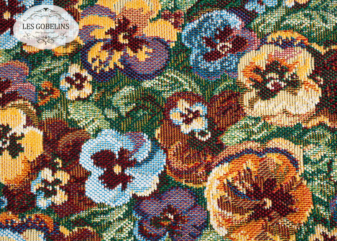где купить Покрывало Les Gobelins Накидка на диван Fleurs De Jardin (130х210 см) по лучшей цене